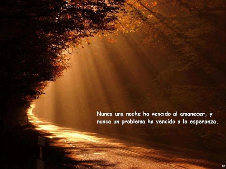 Nunca Una Noche Ha Vencido Al Amanecer Y Frases O Refranes Celebres
